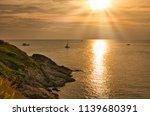 sunset in phrom teap cape  that ...   Shutterstock . vector #1139680391