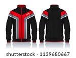 jacket design sportswear track... | Shutterstock .eps vector #1139680667