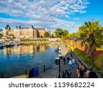 Inner Harbor Of Victoria Bc...