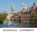 fountain in front of the dutch... | Shutterstock . vector #1139688437