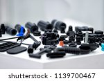 plastic and rubber parts of... | Shutterstock . vector #1139700467
