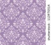 damask seamless pattern for... | Shutterstock .eps vector #113970514