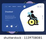 quality one page disabled... | Shutterstock .eps vector #1139708081