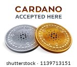 cardano. accepted sign emblem....   Shutterstock .eps vector #1139713151