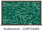school board  formulas  solution | Shutterstock .eps vector #1139718281