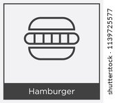 hamburger icon isolated on...