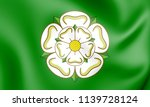 3d unofficial flag of north... | Shutterstock . vector #1139728124