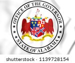 3d seal of the governor of... | Shutterstock . vector #1139728154