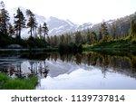 washington state picture lake... | Shutterstock . vector #1139737814