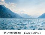 a beautiful view of interlaken. ... | Shutterstock . vector #1139760437