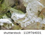 close up of cave wall  stone... | Shutterstock . vector #1139764031