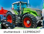 modern tractor for agriculture... | Shutterstock . vector #1139806247