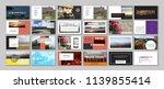 new original presentation... | Shutterstock .eps vector #1139855414