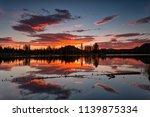 Sprague Lake at sunrise