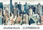 stunning aerial skyline of... | Shutterstock . vector #1139880614