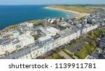 portrush town atlantic ocean... | Shutterstock . vector #1139911781