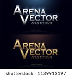elegant silver and golden... | Shutterstock .eps vector #1139913197