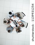 top view.business team... | Shutterstock . vector #1139931254
