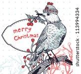 christmas vector illustration... | Shutterstock .eps vector #113994334