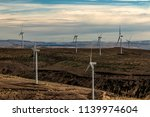 green sustainable energy... | Shutterstock . vector #1139974604