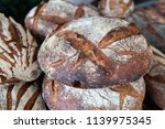 close up of delicious and... | Shutterstock . vector #1139975345