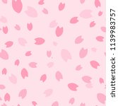 sakura pattern  background ... | Shutterstock .eps vector #1139983757