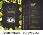 vector illustration menu for a...   Shutterstock .eps vector #1139999651