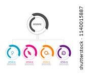 creative modern timeline...   Shutterstock .eps vector #1140015887