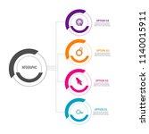 creative modern timeline...   Shutterstock .eps vector #1140015911
