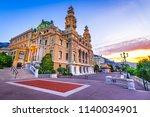 monte carlo  monaco   july 2018 ... | Shutterstock . vector #1140034901