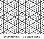 the geometric pattern with... | Shutterstock .eps vector #1140054551