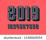 modern professional vector 2019 ... | Shutterstock .eps vector #1140065054
