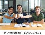 group of multiethnic interns...   Shutterstock . vector #1140067631