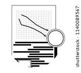 market fall downward ...   Shutterstock .eps vector #1140089567