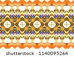 colorful horizontal pattern for ... | Shutterstock . vector #1140095264