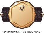 golden vector lable  for... | Shutterstock .eps vector #1140097547