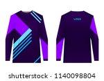 design for sublimation print.... | Shutterstock .eps vector #1140098804