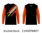 design for sublimation print.... | Shutterstock .eps vector #1140098807