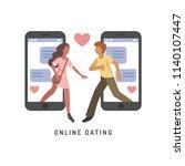 vector illustration for online... | Shutterstock .eps vector #1140107447