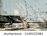 tree root with concrete.... | Shutterstock . vector #1140122381