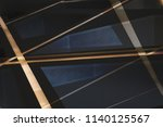 metal in modern architecture.... | Shutterstock . vector #1140125567
