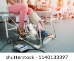 patient on cpm  continuous... | Shutterstock . vector #1140133397