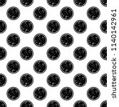pizza icon in pattern style on... | Shutterstock .eps vector #1140142961