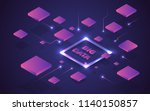 big data abstract analytics... | Shutterstock .eps vector #1140150857