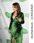SANTA MONICA - SEP 25: Kim Kardashian at the Midori Makeover Parlour at Fred Segal on September 25, 2012 in Santa Monica, California - stock photo
