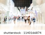 crowd of anonymous abstract... | Shutterstock . vector #1140166874