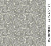vector seamless pattern.... | Shutterstock .eps vector #1140177494