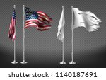 vector realistic set with... | Shutterstock .eps vector #1140187691