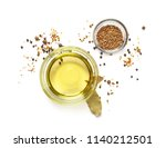 oil and spices  top view ... | Shutterstock . vector #1140212501