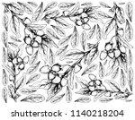 berry fruit  illustration... | Shutterstock .eps vector #1140218204